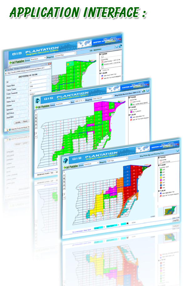 Application Interface GIS